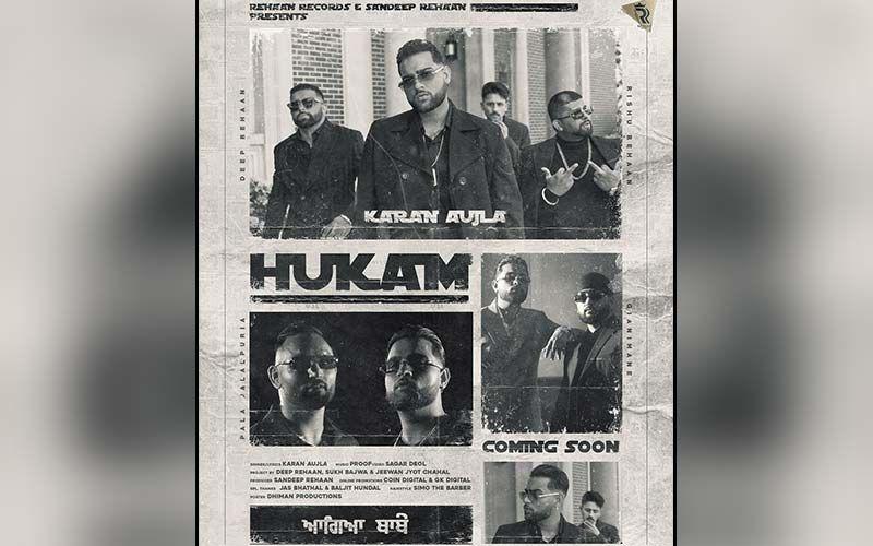 Karan Aujla's New Single 'Hukam' Exclusive With 9X Tashan!