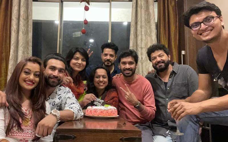Vatevari Mogara: Manasi Naik, Pardeep Kharera, Avadhoot Gupte, And Vaishali Samant Celebrate The Success Of Their Music Video