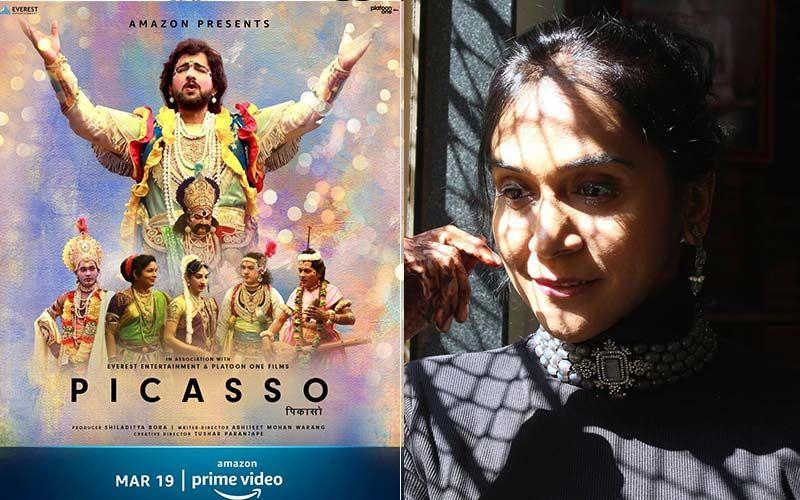 Picasso: Manjiri Oak Celebrates The Success Of Amazon Prime Telecast Of First-Ever Direct To Stream Marathi Film By Prasad Oak