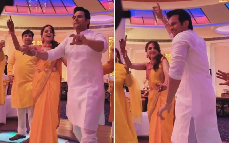 Sugandha Mishra And Sanket Bhosale's 'Bhangra' At Their Haldi Ceremony Is Unmissable; Couple Shares INSIDE Video From Their Pre-Wedding Festivities- WATCH