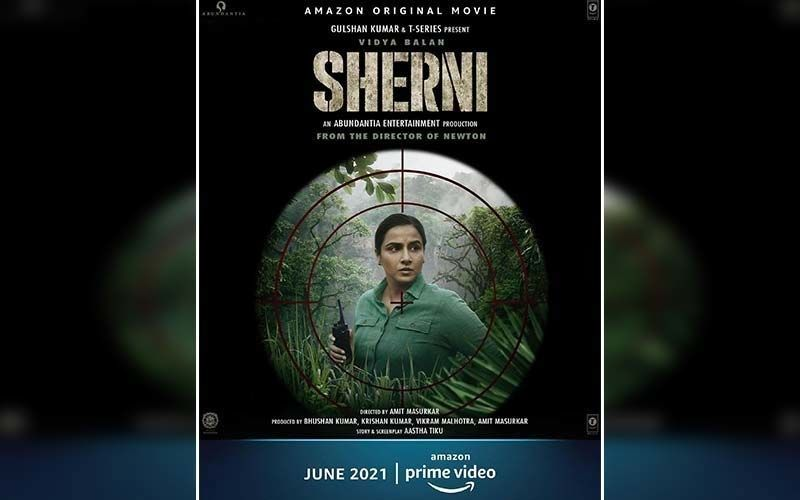 Sherni: Vidya Balan Shares A New Poster Of The Film; Actress Announces Her OTT Debut In June-Deets INSIDE