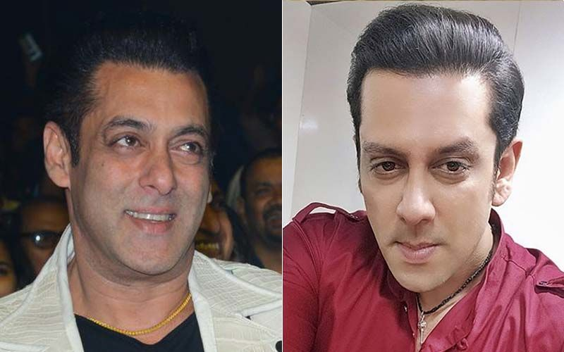 Salman Khan's Pic With His Body Double Parvez Kazi From Radhe Your Most Wanted Bhai Sets Is Unmissable; Latter Gives Fans A Sneak-Peek