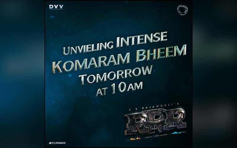 RRR: Makers to Unveil JR NTR's Intense Look As Bheem Tomorrow On The Occasion of The Actor's Birthday