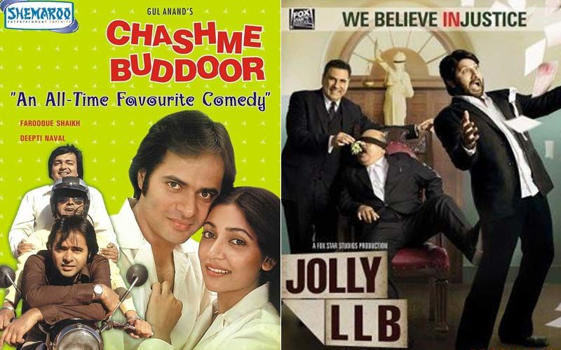 Chashme Buddoor And Jolly LLB 1; 2 Slice Of Life Films To Chase Away Your Boredom -PART 28