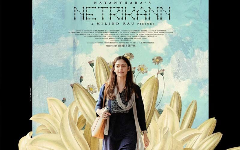 Netrikann: Nayantra's Poster From The First Single Idhuvum Kadandhu Pogum OUT