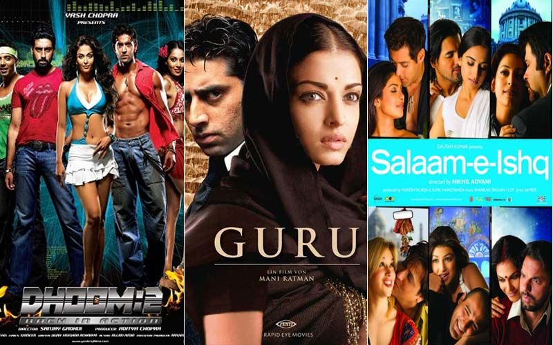 Hrithik Roshan's Dhoom2, Abhishek Bachchan-Aishwarya Rai Bachchan's Guru And Salman Khan's Salaam-E-Ishq; 3 Blissful Films That Are Lockdown Blueschasers- PART 9