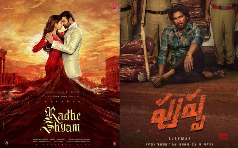 From Prabhas's Radhe Shyam To Allu Arjun's Pushpa, Here's A List Of The Year's 10 Most Awaited Films