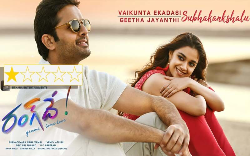 Rang De Review: Nithiin And Keerthi Suresh Star In A Shameful Sexist Rom-Com
