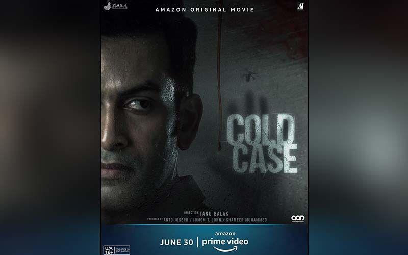 Cold Case: Prithviraj Sukumaran Unveils An Intense Poster Of The Much-Awaited Thriller Film