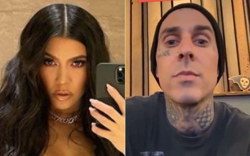 Kourtney Kardashian's Steamy MAKE-OUT Session With Boyfriend Travis Barker Goes VIRAL!