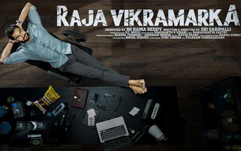 Raja Vikramarka: Director Sandeep Reddy Vanga Reveals The First Look Poster And Title Of Kartikeya Gummakonda's Upcoming Action Thriller
