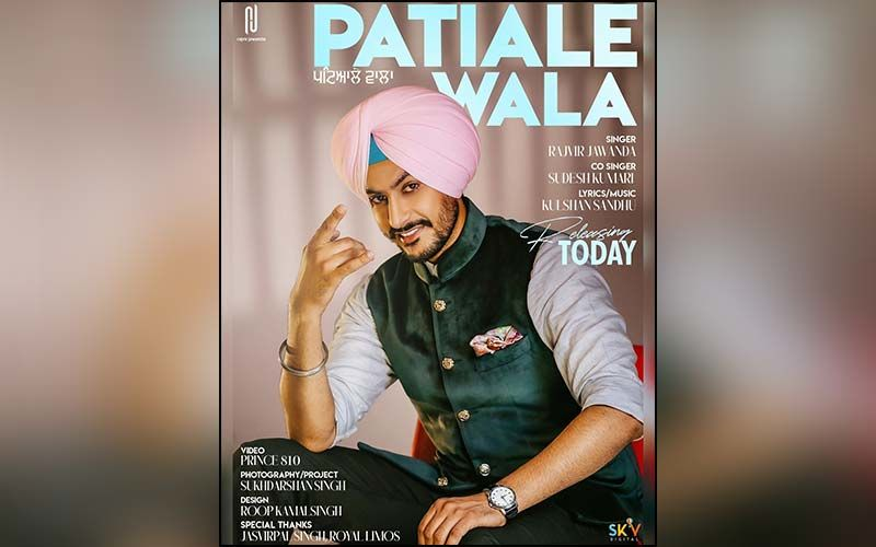 Patiale Wala: Rajvir Jawanda's Latest Love Song Crosses 1 Million Views On YouTube In No Time; Check It Out