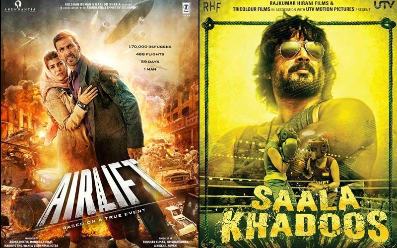 Akshay Kumar And Nimrat Kaur Starrer Airlift And R Madhavan Starrer Saala Khadoos - Lockdown Blues Chasers - Part 47