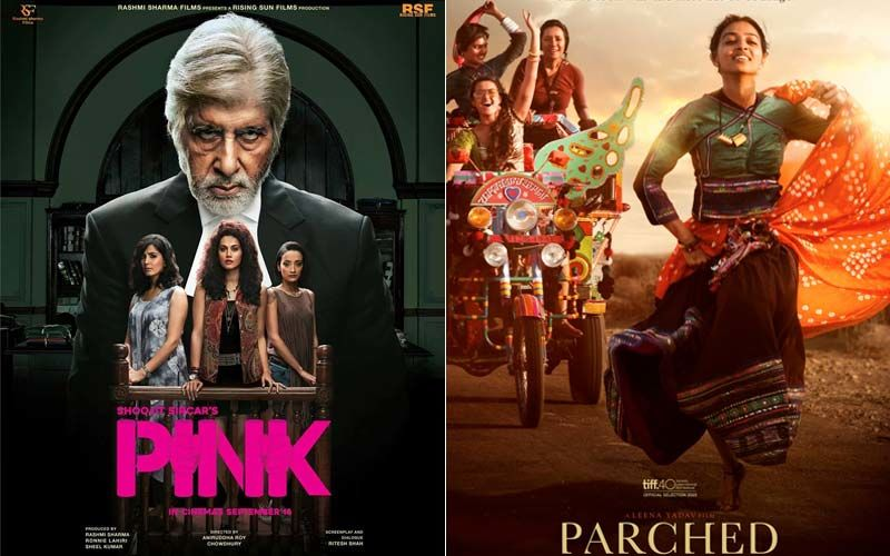 Amitabh Bachchan-Taapsee Pannu Starrer Pink And Radhika Apte Starrer Parched: Watch The Two For Some Power-Packed Performances- PART 53