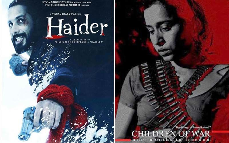 Shahid Kapoor Starrer 'Haider' And Pavan Malhotra- Raima Sen Starrer 'Children Of War'; Lockdown Blues-Chasers Part 36