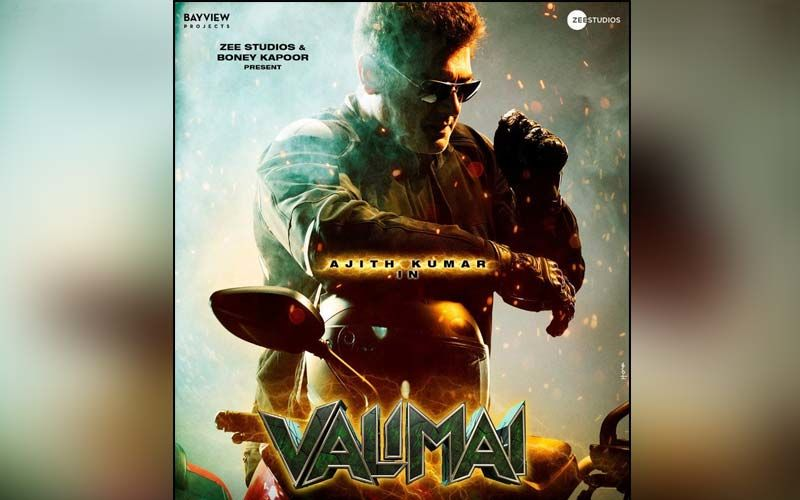 Valimai First Look OUT Now: Catch The Poster Of Thala Ajith's Upcoming Action Drama
