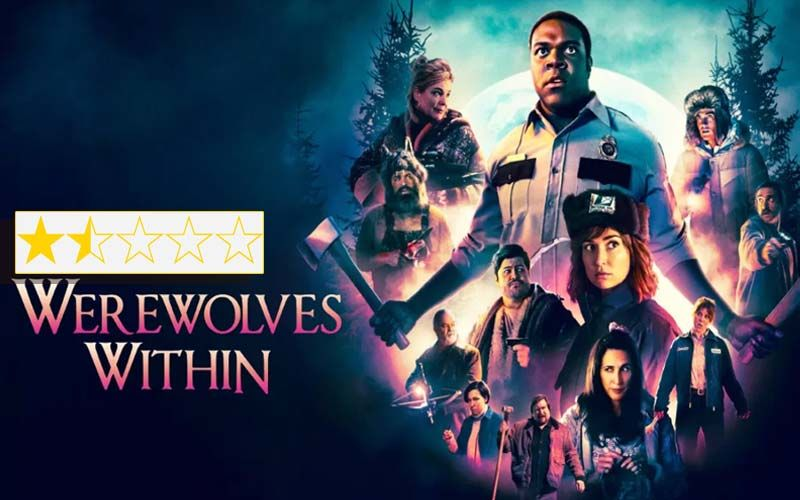 Werewolves Within Review: Starring Sam Richardson And Milana Vayntrub The Film Is A Jejune Junk