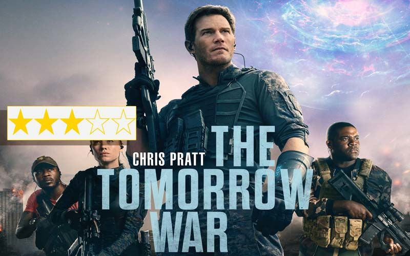 The Tomorrow War Review: Chris Pratt Puts Up A Good Show With Impressive Looking Aliens And Engaging Action Sequences