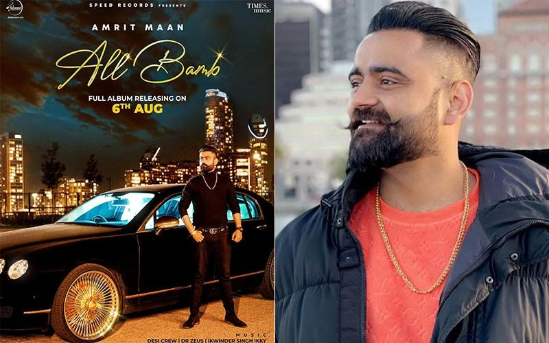 All Bamb: Amrit Maan Unveils The Release Date Of His First-Ever Album; Shares A New Look Poster