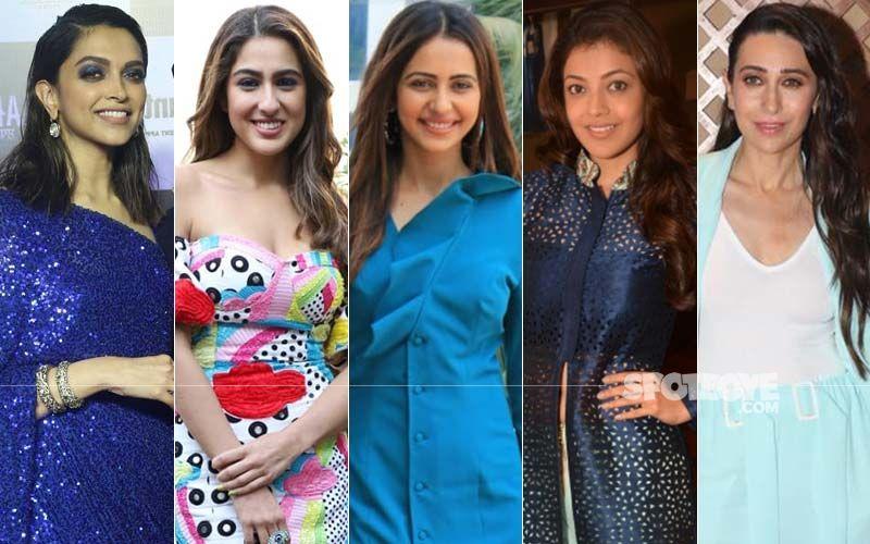 STUNNER OR BUMMER: Deepika Padukone, Sara Ali Khan, Rakul Preet Singh, Kajal Agarwal Or Karisma Kapoor?