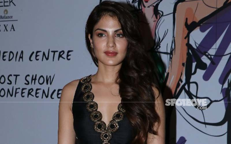 Rhea Chakraborty Gives Another Glimpse Into Her Love For Dogs
