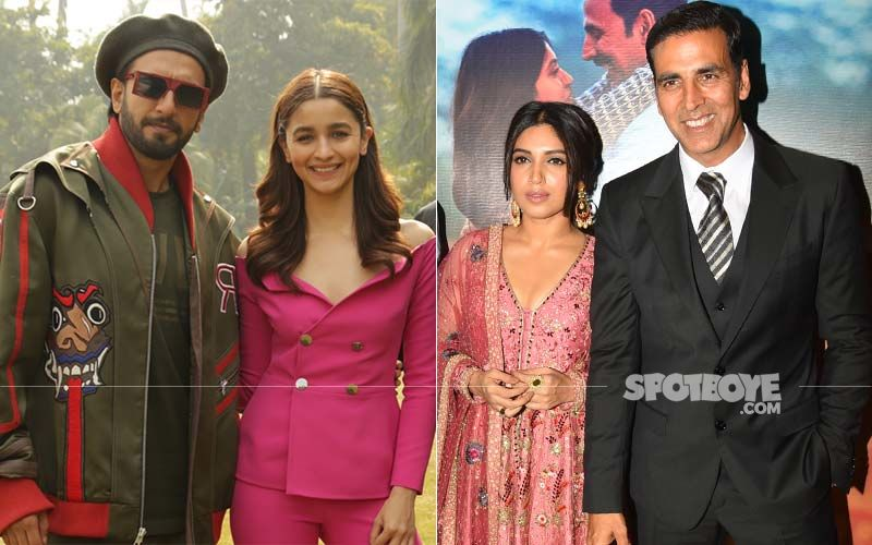 Ranveer Singh-Alia Bhatt, Tiger Shroff-Kriti Sanon And Akshay Kumar-Bhumi Pednekar; A Look At The Tried And Tested Bollywood Couples Who Are Reuniting On Screen