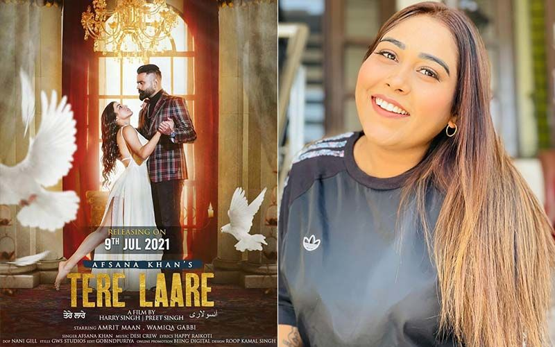 Tere Laare: Teaser Of Afsana Khan's Next Song Promises A Crime-Thriller Love Story With Amrit Maan And Wamiqa Gabbi
