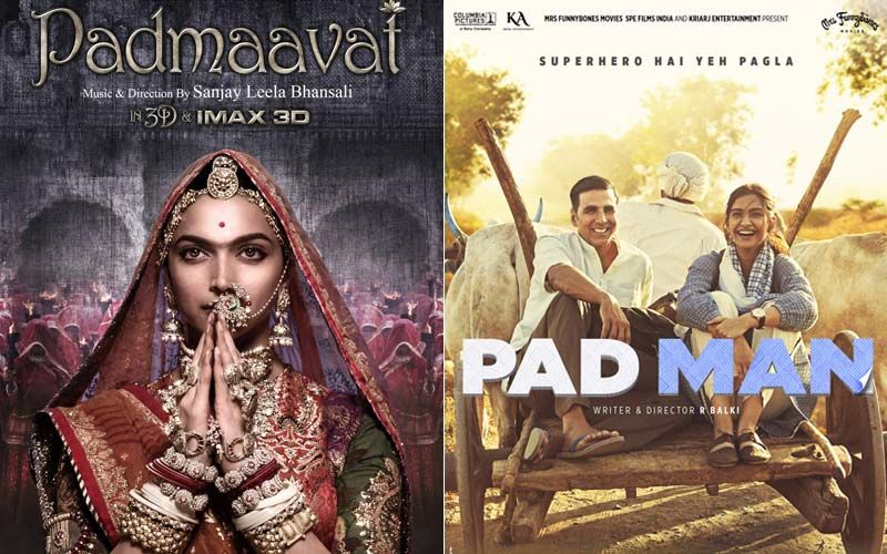 Deepika Padukone's Padmaavat And Akshay Kumar Starrer Pad Man; Two Interesting 2018 Releases To Keep You Entertained During The Weekend-PART 62