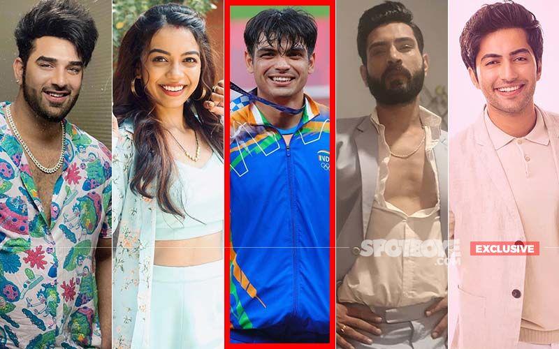 TV Actors Paras Chhabra, Simran Budharup, Annkit Bhatia, And Akshay Kharodia Applaud Neeraj Chopra For Bagging The First-Ever Gold Medal - EXCLUSIVE
