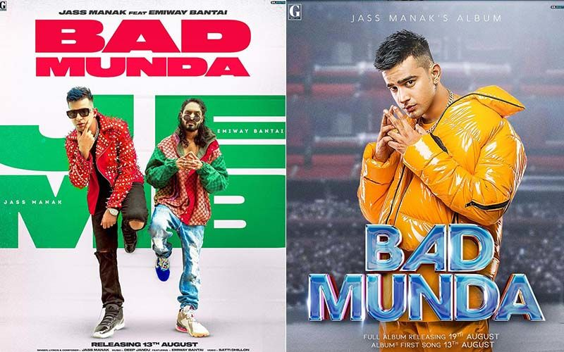 Bad Munda: Jass Manak Shares The First Look Poster Of The Title Track Of His Upcoming Album; Features Emiway Bantai