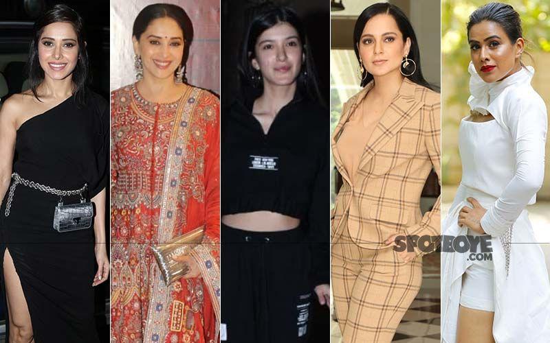 Fabulously HOT Or Fabulously NOT? Nushrratt Bharuccha, Madhuri Dixit Nene, Shanaya Kapoor, Kangana Ranaut and Nia Sharma