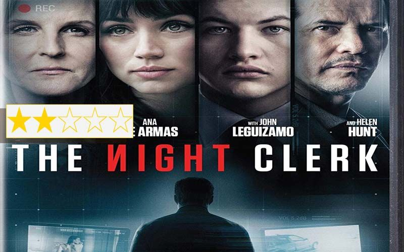 The Night Clerk Review: Tye Sheridan, Ana de Armas And Helen Hunt's Movie Is Interesting, But Not Enough