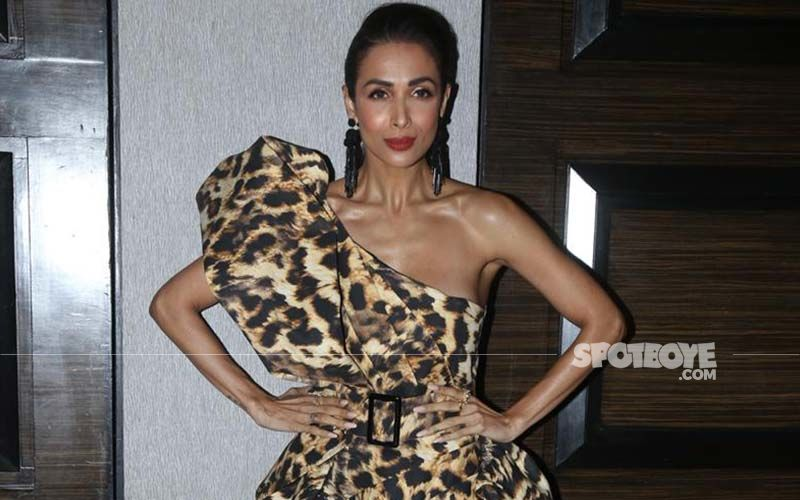 These Pictures Of Malaika Arora Flaunting Her Hourglass Figure In A Figure-Hugging Leopard Print Dress Is Driving Our Mid-week Blues Away