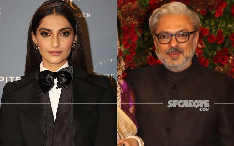 A Friendly Visit For Sonam Kapoor At Sanjay Leela Bhansali's Office? Here's What We Know About It!
