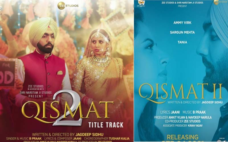 Qismat 2: The Title Track Of Ammy Virk And Sargun Mehta Starrer Leaves Everyone Teary-Eyed