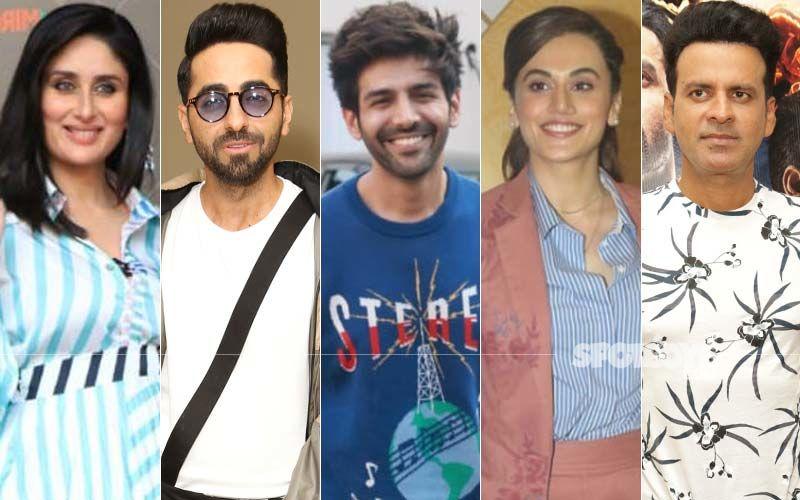 Kareena Kapoor Khan, Ayushmann Khurrana, Kartik Aaryan, Taapsee Pannu, Manoj Bajpayee Unite To Unveil A Big Surprise; We Wonder What's Cooking