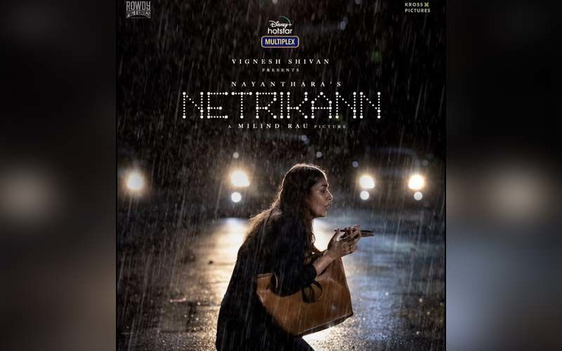 Nayanthara Unveils The Poster Of Netrikann, Announces The Release Of Title Track Releasing Today