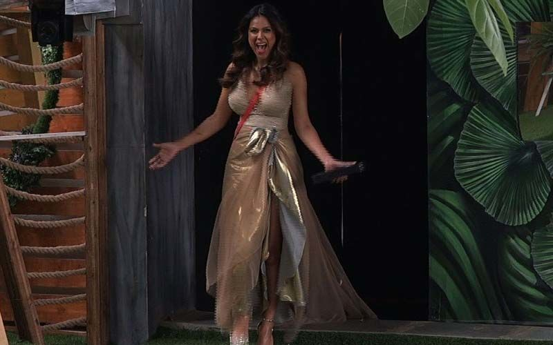 Bigg Boss OTT: Wildcard Entry Nia Sharma Makes A Smashing Entry On The Show As The New 'Boss Lady' - PICTURES