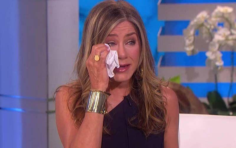 Jennifer Aniston Gets Super Emotional In Sneak Peek Of The Ellen DeGeneres Show Farewell Season-Watch