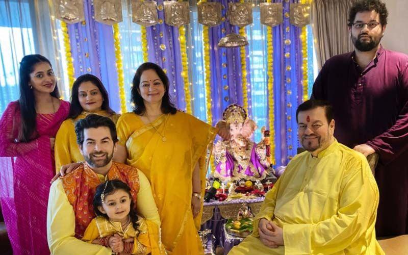 Ganesh Chaturthi 2021: Neil Nitin Mukesh And Mukesh Parivaar Welcome Ganpati Bappa To Their Family Home