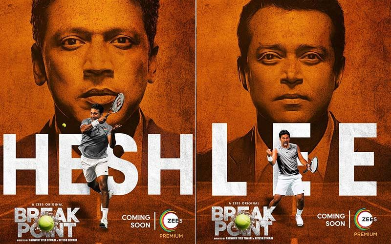 Break Point: New Posters Of The Web Series, Based On Leander Paes And Mahesh Bhupathi's Story, Amp Up The Curiosity Of Fans