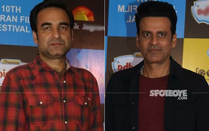 Pankaj Tripathi Catches Up With Old Friend Manoj Bajpayee For Dinner On His Birthday Eve