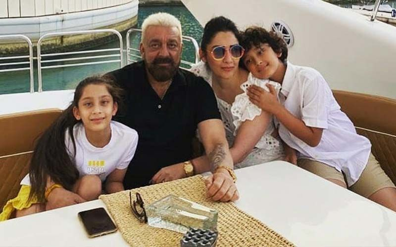 Sanjay Dutt Reveals The Real Reason Twins Shahraan And Iqra Like To Watch His Biopic 'Sanju'