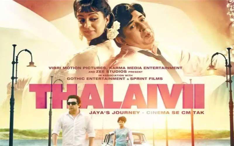Thalaivii: Contrary To Reports, Amazon-Netflix Not Sharing Kangana Ranaut's Film In Hindi