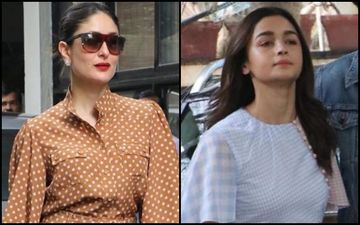 Kareena Kapoor Khan's Polka Dot Jumper Or Alia Bhatt's Check Dress- Who Looked Cooler This Christmas?
