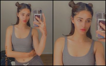 Dare To Try Ananya Panday's Sexy Space Buns? Actress Rocks The 90s Hairstyle Like A Pro