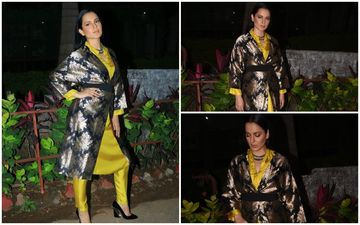 FASHION CULPRIT OF THE DAY: Kangana Ranaut, There Is A Lot Of 'PANGA' In This DISASTROUS Look!