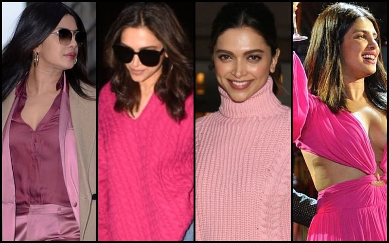Deepika Padukone-Priyanka Chopra Jonas GO CRAZY About Pink- Did You Notice How Many Times They Sported The Colour In The Last 90 Days?