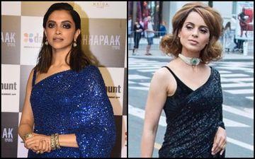 Deepika Padukone Vs Kangana Ranaut: Who Did Justice To Sabyasachi's All-Shimmer Saree?