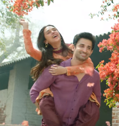 aditi rao hydari and sidhant gupta in lag jaa gale